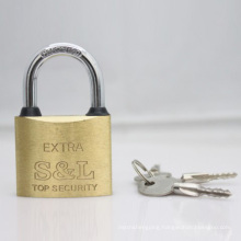 Brass Padlock with Cross Keys (BP)