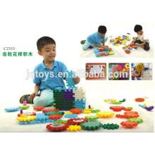 Engrenagem padrão grande brinquedo brinquedo de blocos de plástico de construção com novo estilo