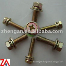 hex head brass bolts