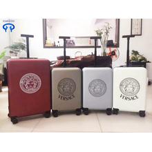 Потяните рычаг коробки мужской универсальный колеса чемодан