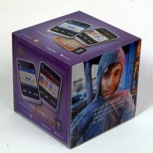 2015 diseño caliente caja Lenticular 3D para móviles
