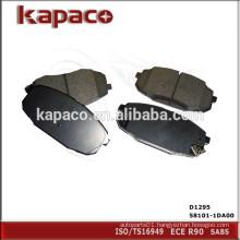 High Performance Ceramic Disc Brake Pad for HYUNDAI KIA High Performance Ceramic Disc Brake Pad for HYUNDAI KIAD1295 58101-1DA01