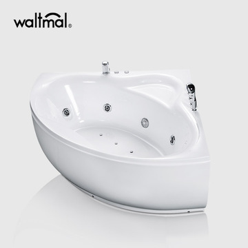 Bathtub Sektor Whirlpool di White