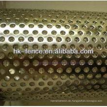 Filterelement aus Edelstahl / Filterrohr / Lochfilterrohr