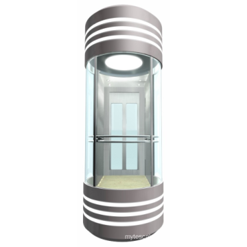 Guaranteed service quality  sightseeing elevator observation scenic glass lifts