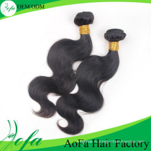 Мокрый и волнистые Виргинских бразильских волос красивый человеческих волос расширения