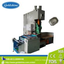 Papel de aluminio sellado máquina