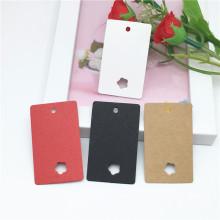 pinza de pelo tarjeta de papel tarjeta de papel rosa caja de pestañas