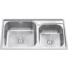 L5601 S. S Stretching Double Bowl Sink