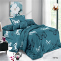 Digital Printed Polyester Plain Voile Fabric Bedding Sets