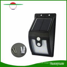 10 LEDs Luz Solar Ao Ar Livre com Sensor de Movimento Lâmpadas Solares 300 Lumens À Prova D 'Água para Jardim Lâmpada de Segurança