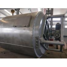 Máquina de secagem de placa química contínua de cera de parafina