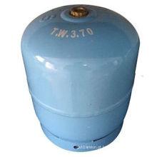 Cilindro de gás 3kg-LPG & tanque de gás de aço para o cozimento da casa