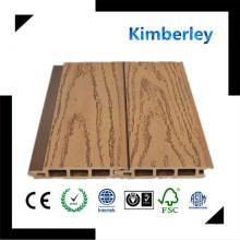 WPC Paneles Decorativos de Pared, Pisos de Precio WPC, Plástico de Madera Compuesto