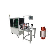 Станок для намотки обмотки статора с однофазным асинхронным двигателем