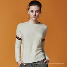 Suéter de señora de punto de cachemira P18B03TR