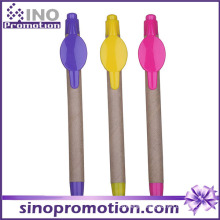 Eco-Friend Promotional Ball Pen with Clip Logo Printing