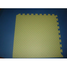 Puzzle Toy Mat, Wood Soft Tiles Mat