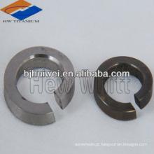 Arruela de pressão de titânio DIN127