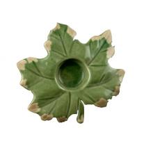 Boule de céramique en forme d'érable pour décoration