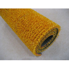 Orange Playground Safety Outdoor Pvc Plastic Grass Mat Artificial Lawn Matting