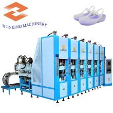 Machine à affranchir à injection automatique de chaussures EVA