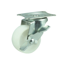 PP Light Duty Castors, Side Brake