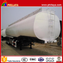 Gooseneck Stainess Steel Body Tri Axle Fuel Tank Semi Trailer