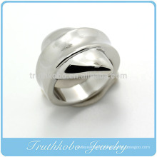 TKB-R0040 Fashion Lastest Unique ring jewelry 316L stainless steel ring castings