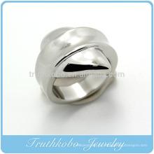 TKB-R0040 Moda Mais Recente Único anel jóias em aço inoxidável anel 316L vazadas