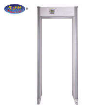 Popular outdoor&33 zone Walk through metal detector