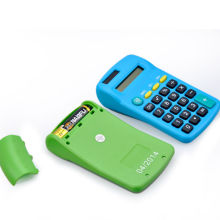 8 Digit Back to School Colorful Pocket Calculator