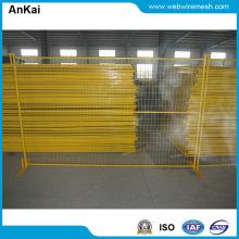 PVC enduit clôture provisoire