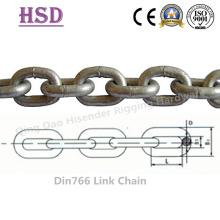 E. galvanizado DIN766 enlace cadena (DIN763/DIN764/DIN5685)