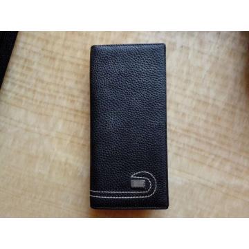 Guangzhou Lieferanten Designer Leder lange Männer Wallet Passport Card Bag (Z-113)