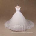 Nuevo un cordón de marfil de la línea de A más el vestido de boda nupcial del vestido del tamaño