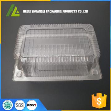 galleta de plástico transparente