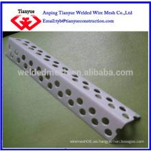Perla de esquina de metal perforada (certificado ISO)