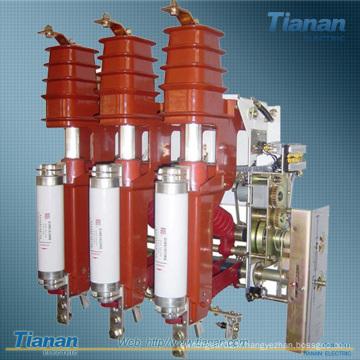 Interrupteur de rupture de charge Combinaison Fusible 12kv Interrupteur de charge à haute tension