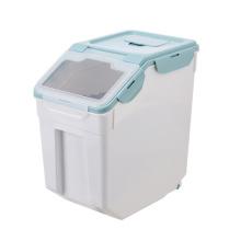 Dog Food Barrelpet Food Barrel Sealed Storage Tankcat Fooddog Food Moisture-Proof Storage Box Pet Food Storage Box