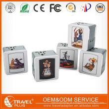 Carregador de parede duplo de luxo personalizado para celular