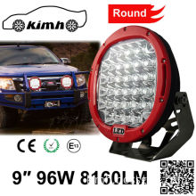 9 inch 8160LM 96W led work light driving light