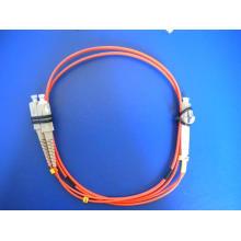 Cordon de fibre optique - Câble LC / Sc Duplex Multimode 2.0mm