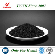 Fórmula química a base de carbón carbón activado