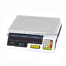 Экономичная электронная шкала калькуляции цен 30 кг Настольная шкала