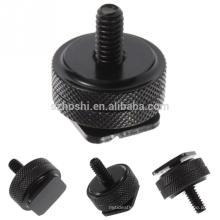 1/4-3/8 Tripod Screw to Flash Hot Shoe Mount Adapter For DSLR SLR on Hotshoe Studio Accessory Screw