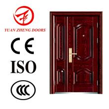 Gute Qualität und Bester Preis Stahl Sicherheit Doppel Tür