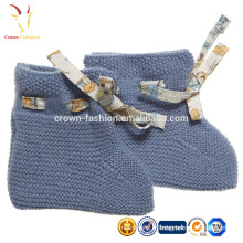 Baby Booites en cachemire tricoté