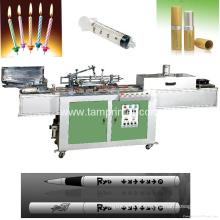 Máquina de impressão automática da tela da garrafa cilíndrica do tubo da pena do OEM Tam-Zm