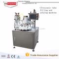 Автоматическая косметическая алюминиевая крем наполнения и укупорки машина